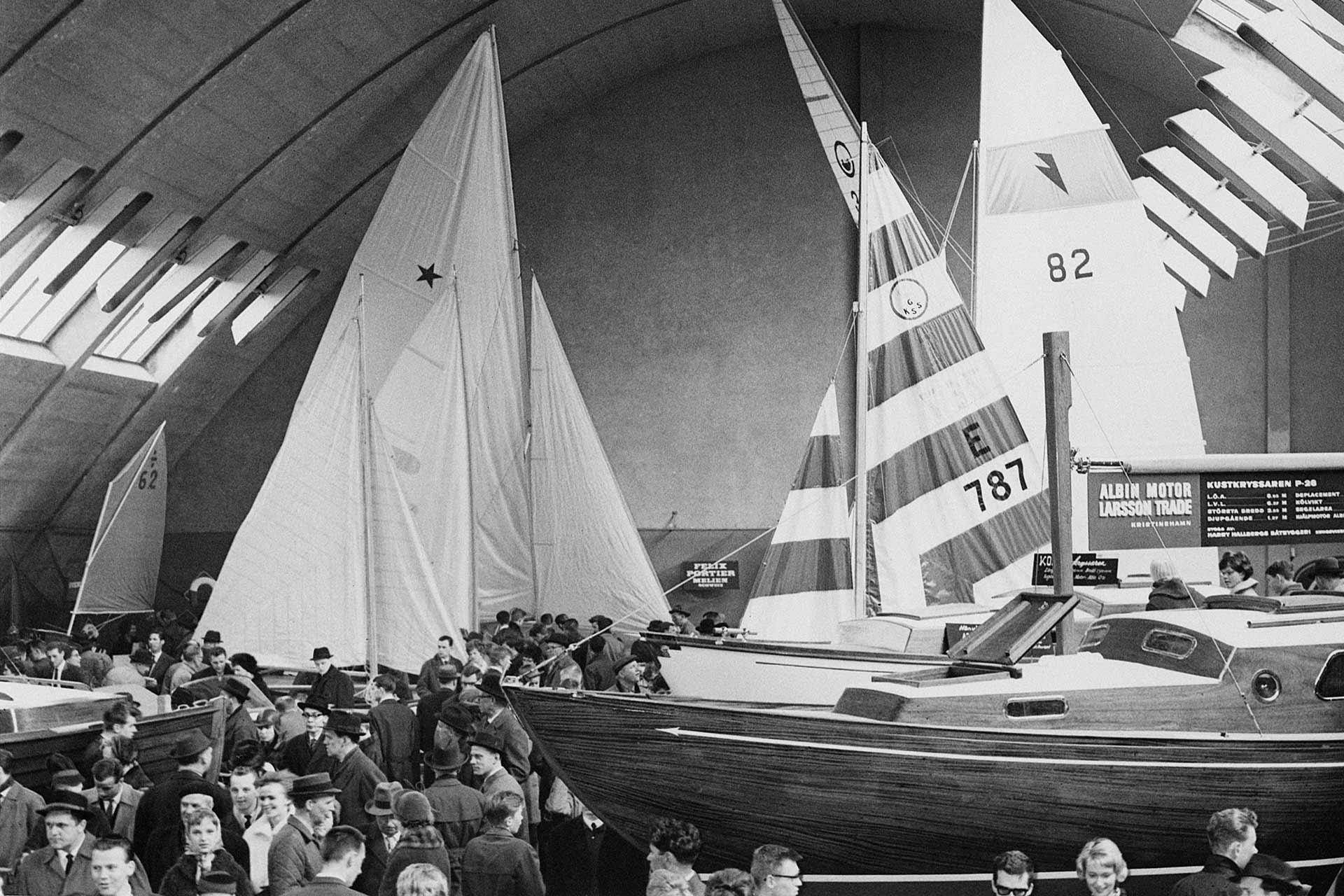 Båtmässan 1962